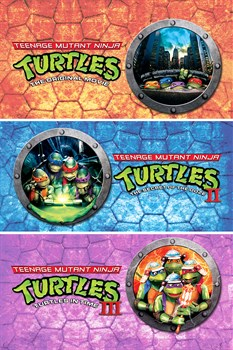 Teenage Mutant Ninja Turtles 1-3 Collection