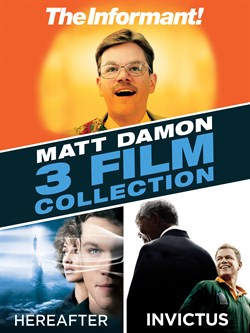 3 Film Favorites: Matt Damon