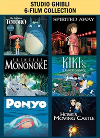 Studio Ghibli 6-Film Collection