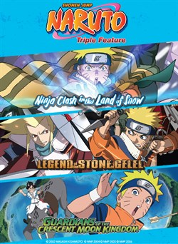 Buy Naruto Triple Feature from Microsoft.com