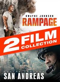 Rampage (2018) + San Andreas 2-Film Bundle