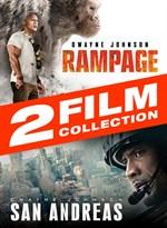 Buy Rampage (2018) + San Andreas 2-Film Bundle