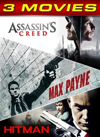 Assassin's Creed / Max Payne / Hitman 3-Movie Collection