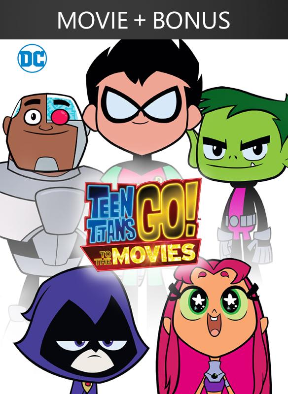 Teen Titans Go! To the Movies + Bonus