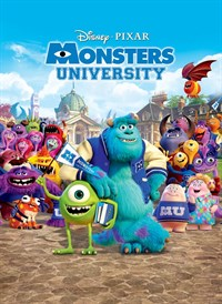 MONSTERS UNIVERSITY - Animated