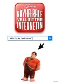 Räyhä-Ralf valloittaa Internetin