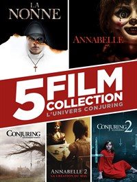 L'Univers Conjuring : Collection 5 Films