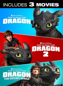 How To Train Your Dragon - 3 Movie Collection