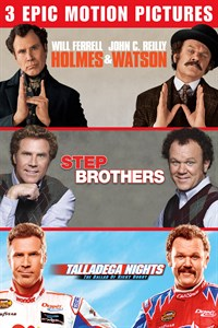 Holmes And Watson / Step Brothers / Talladega Nights: The Ballad Of Ricky Bobby - Set