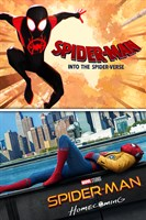 Deal for Spider-Man: Into The Spider-Verse / Homecoming 4K UHD Digital for 9.99