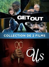 Collection de 2 films : Us/Get Out