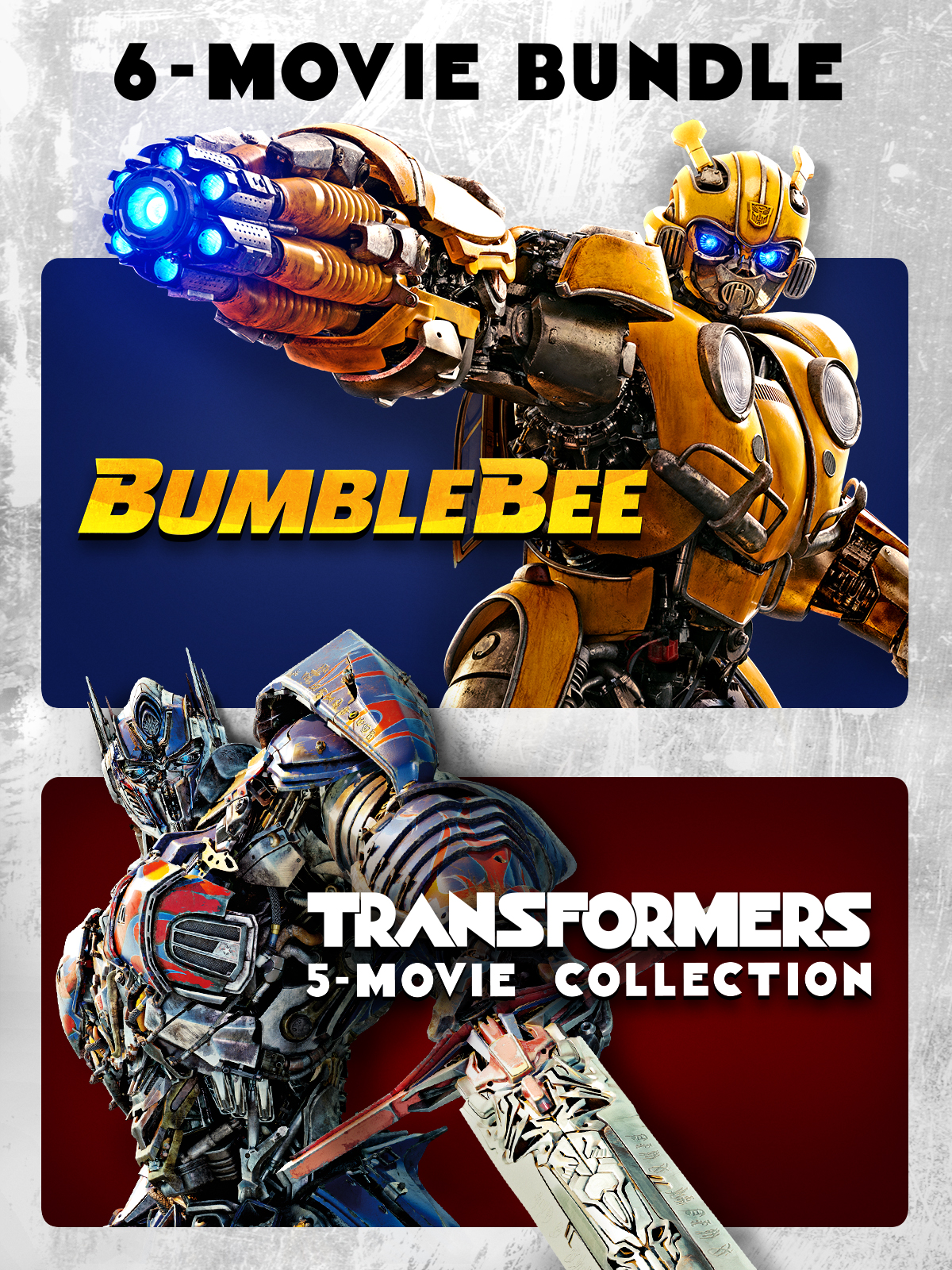 Bumblebee + Transformers 6-Movie Collection