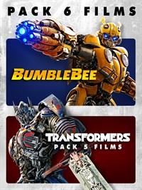 BUMBLEBEE + TRANSFORMERS 1-5 PACK 6 FILMS