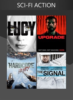 4 Movies (Sci-Fi Action)