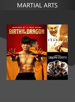 3 Movies (Martial Arts)