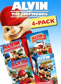 Alvin and the Chipmunks 4 Movie Collection