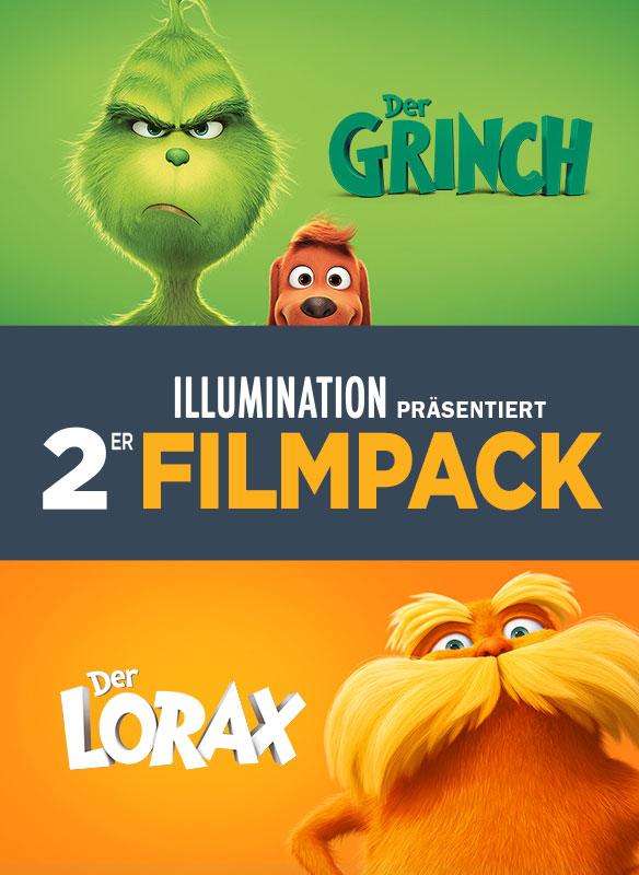 Illumination präsentiert: 2er Filmpack – Der Grinch & Der Lorax