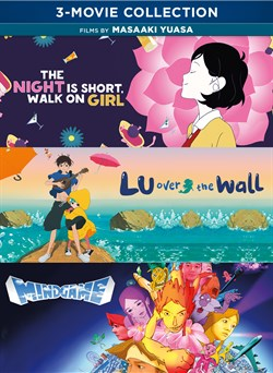 Masaaki Yuasa 3 Movie Collection Bundle