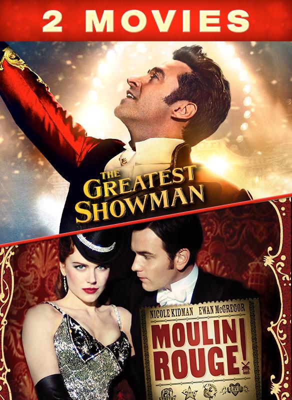 2 Movie Bundle Greatest Showman/Moulin Rouge