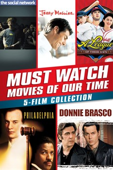 Buy Must-Watch Movies Of Our Time 5-Film Collection from Microsoft.com
