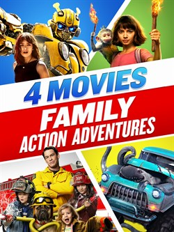 Family Action Adventures 4-Movie Collection