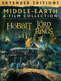 Middle-Earth Extended Editions 6-Film Collection Bundle (Digital 4K UHD)