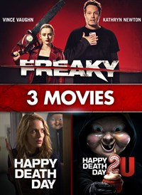 Freaky, Happy Death Day, Happy Death Day 2U: 3-Movie Collection