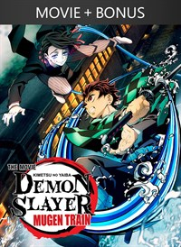 Demon Slayer -Kimetsu no Yaiba- The Movie: Mugen Train (English Dubbed Version) + Bonus