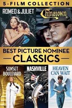 Buy Best Picture Nominee Classics 5-Film Collection from Microsoft.com