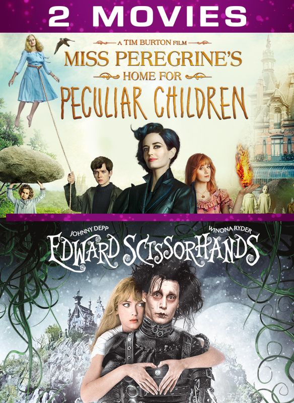 Miss Peregrines Home For Peculiar Children Edward Scissorhands 2 Movie Collection