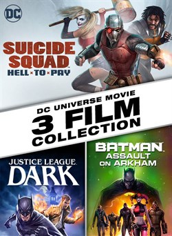 Suicide Squad: Hell to Pay / Batman: Assault on Arkham / Justice League: Dark 3-Film Bundle