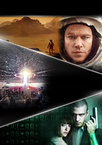 The Martian/Independence Day/In Time 3-Movie Collection