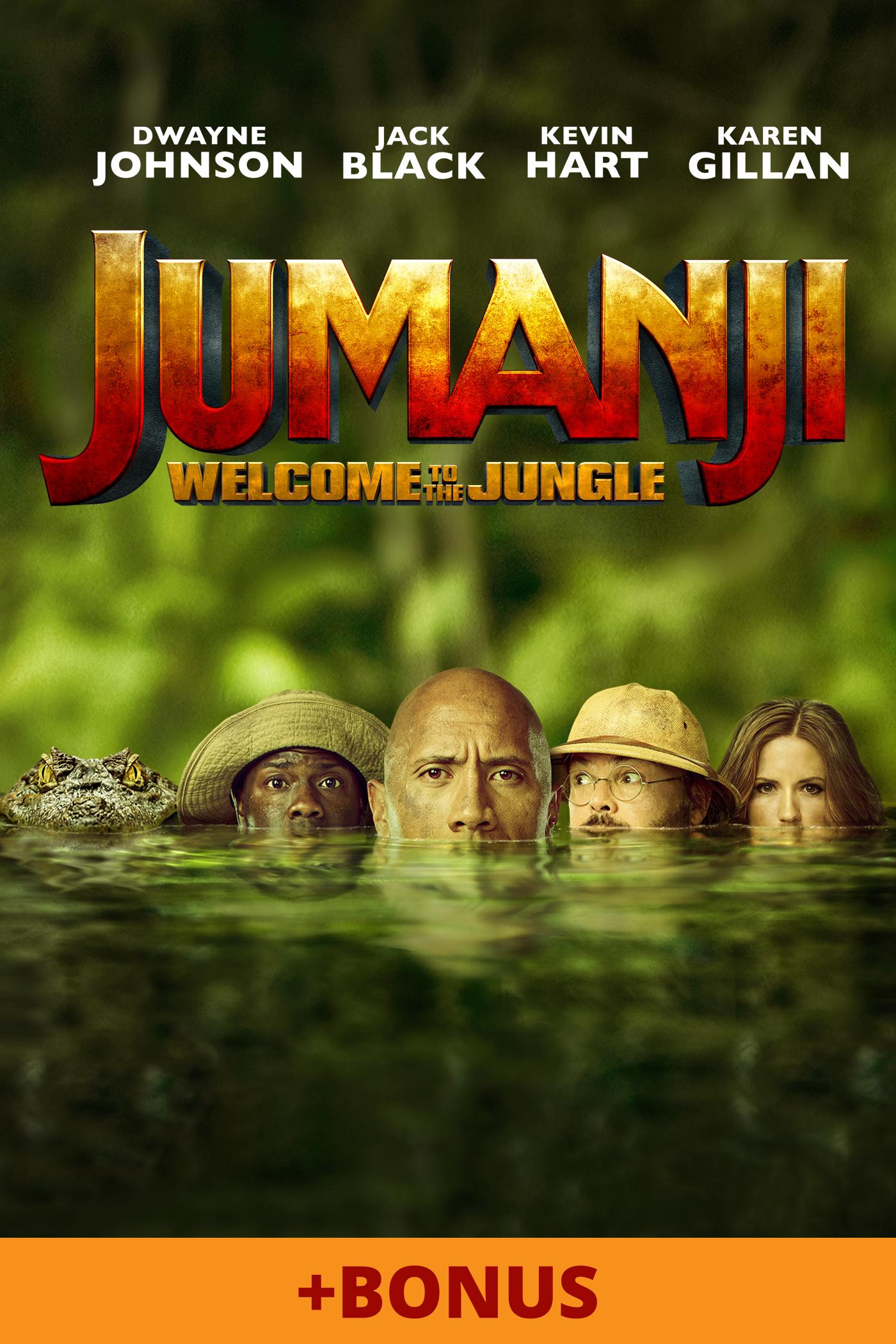 Jumanji: Welcome to the Jungle + Bonus