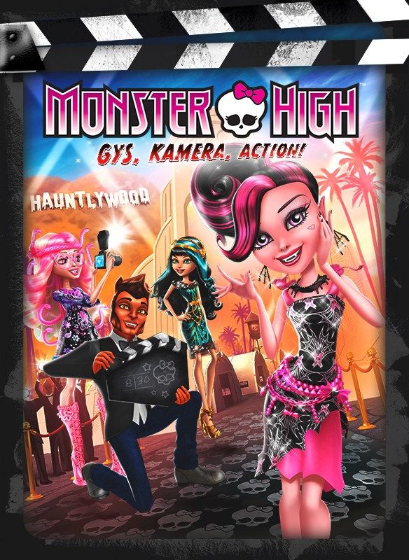 Monster High: Gys, Kamera, Action!