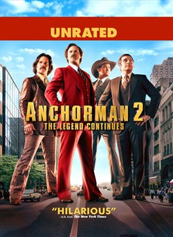 Anchorman 2: The Legend Continues (Extended)