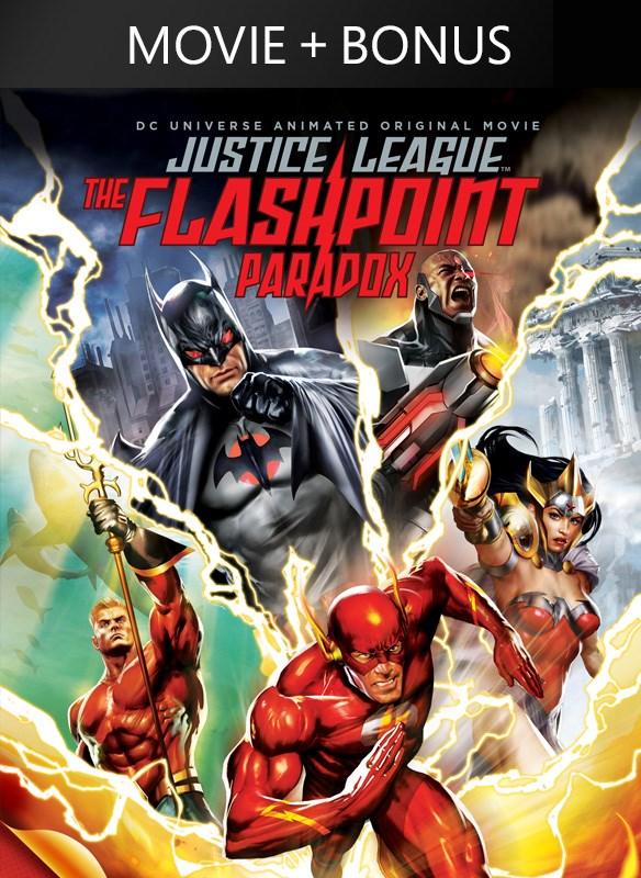 DCU: Justice League: The Flashpoint Paradox (plus bonus features!)
