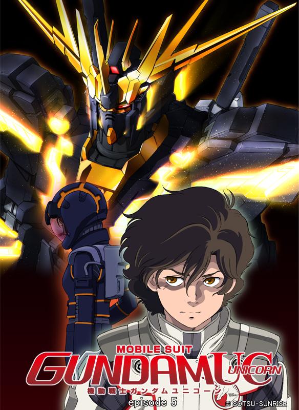 Mobile Suit Gundam UC (Unicorn) épisode 5 la licorne noire