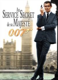 """Affiche du film """"au service de sa majesté"""""""