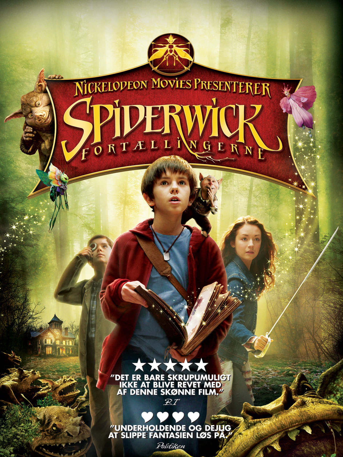 Spiderwick Fortallingerne