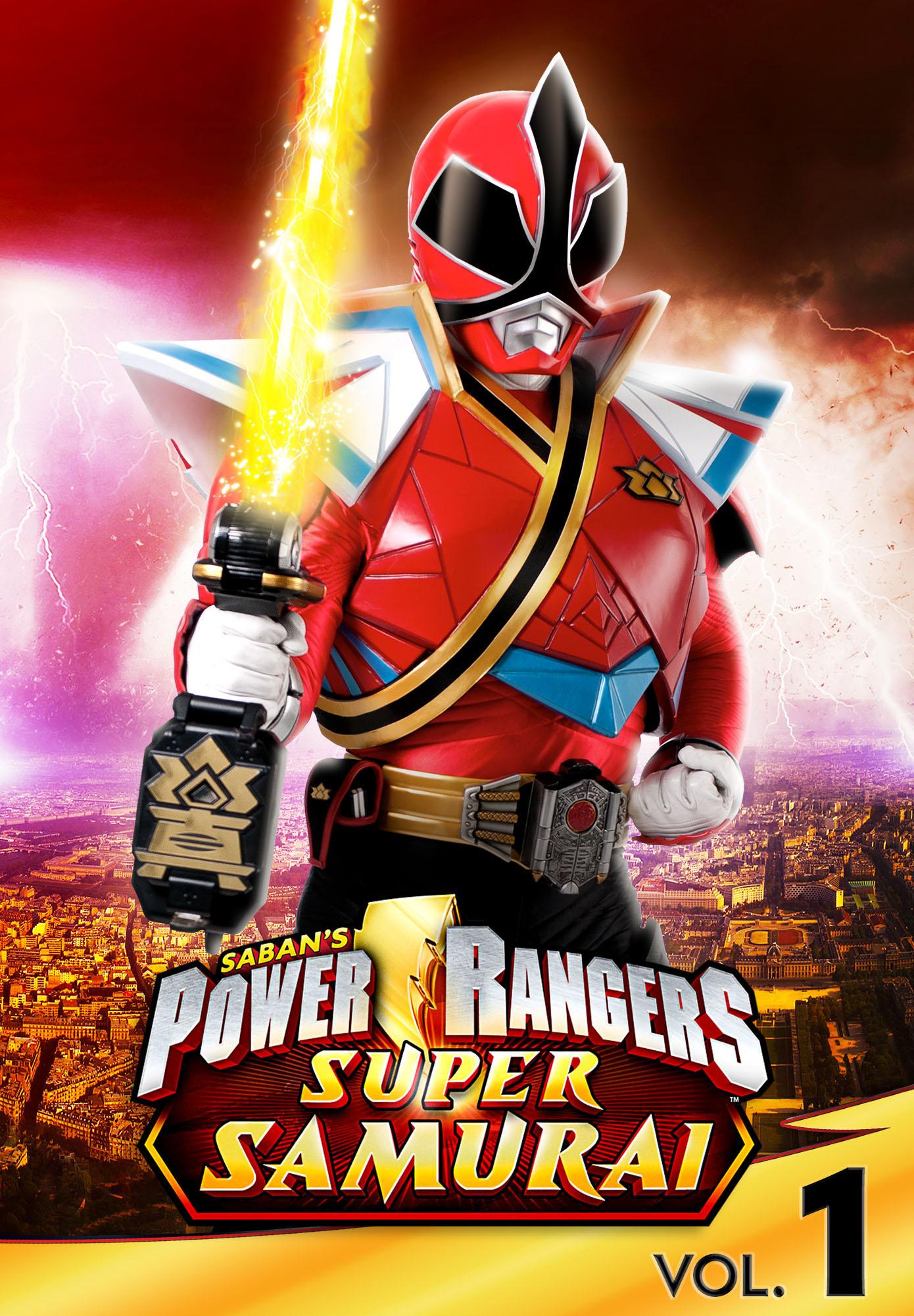 Power Rangers: Super Samurai - Volume 1 - The Super Powered Black Box