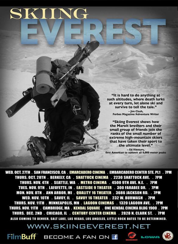 Skiing Everest