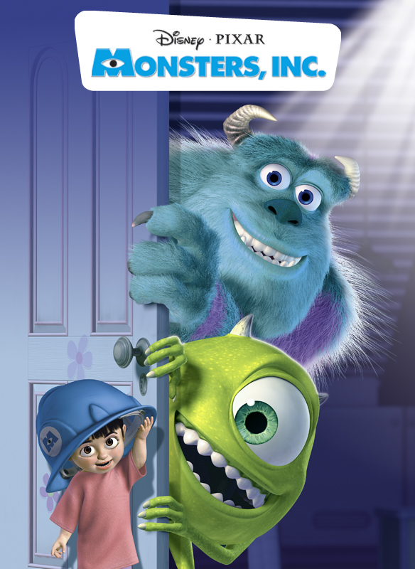 MONSTERS, INC. (2012 RE) - Animated
