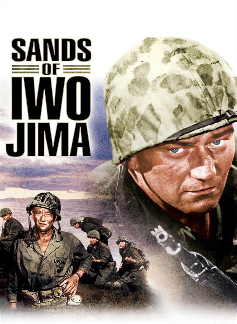 Sands Of Iwo Jima (Black and White)
