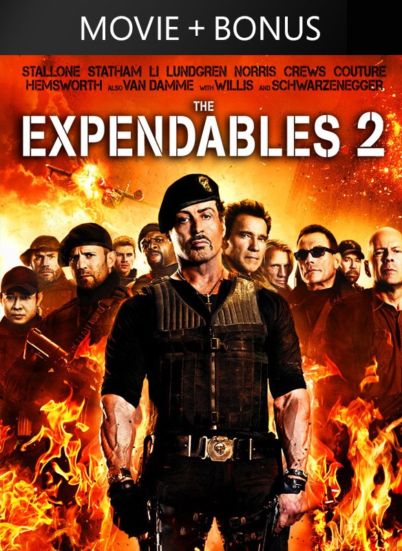 The Expendables 2 (Plus Bonus Material)