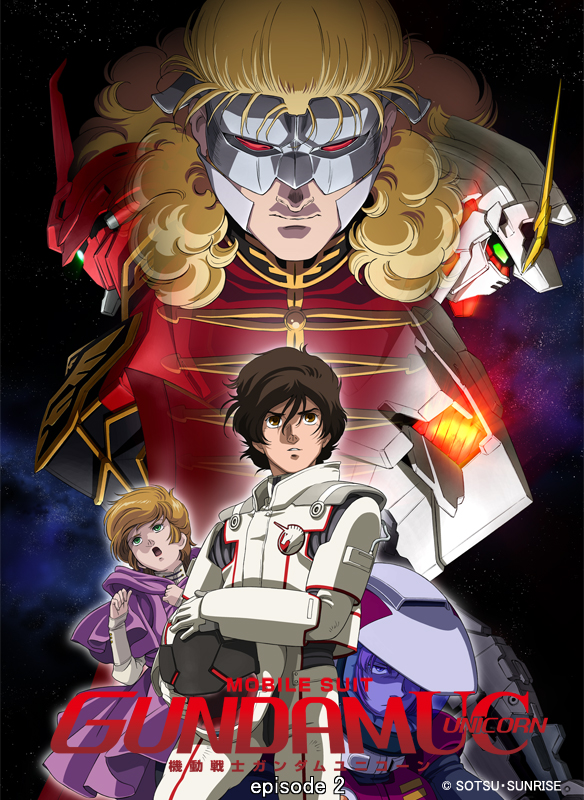 Mobile Suit Gundam UC (Unicorn) episode 2 The Second Coming of Char