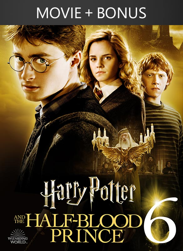 Harry Potter and the Half-Blood Prince (plus Bonus Features!)
