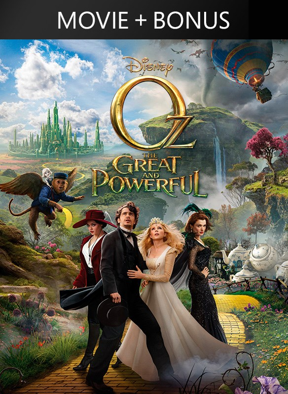 Oz The Great And Powerful (Feature + Bonus)