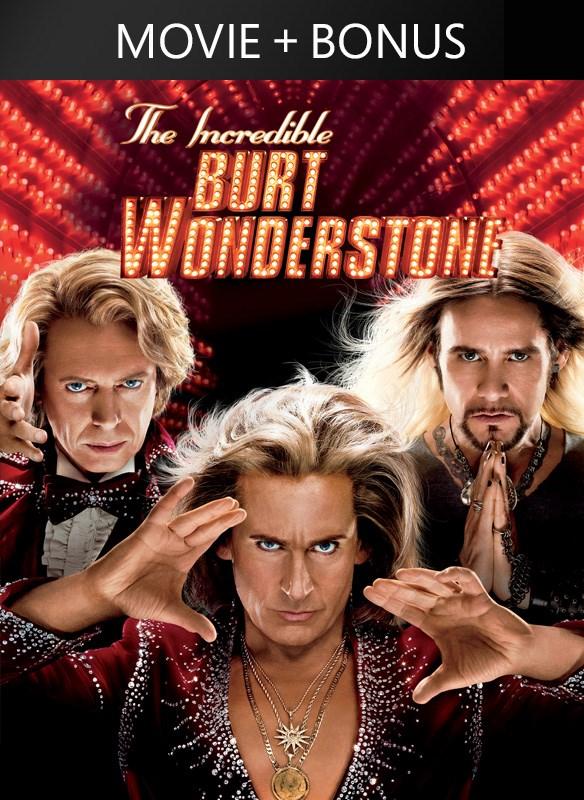 The Incredible Burt Wonderstone (plus bonus features!)