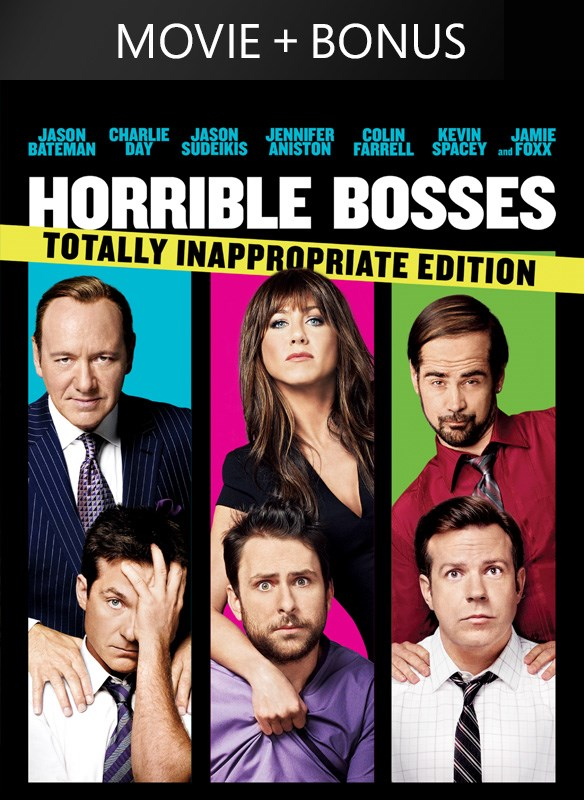Horrible Bosses: Totally Inappropriate Edition (plus Bonus Features!)