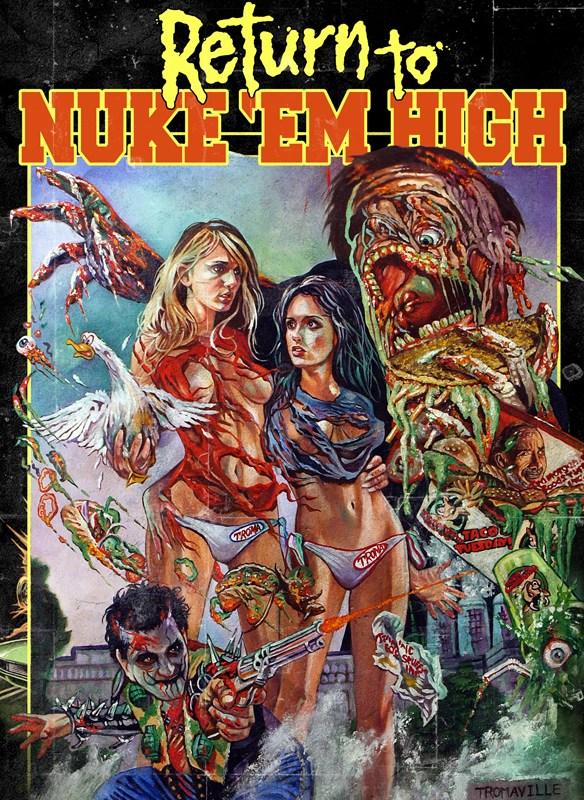 Return to Nuke 'Em High: Volume 1